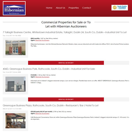 Hibernian Auctioneers - Commercial Properties RSS Detail